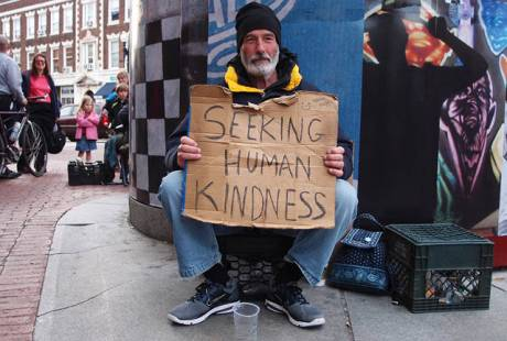 homeless kindness