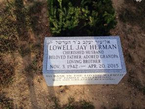 dad's headstone