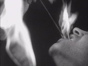 swallowing fire