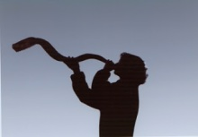 shofar woman
