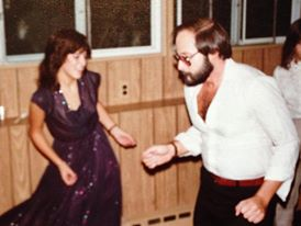 dancing with dad at my bat mitzvah